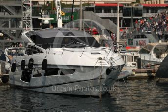 World © Octane Photographic Ltd. Formula 1 – Monaco GP. Paddock. Boats in the Harbour. Monte-Carlo, Monaco. Thursday 23rd May 2019.