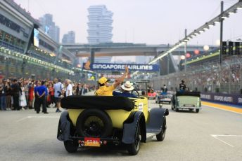 World © Octane Photographic Ltd. Formula 1 – Singapore GP - Drivers Parade. Renault Sport F1 Team RS19 – Daniel Ricciardo. Marina Bay Street Circuit, Singapore. Sunday 22nd September 2019.