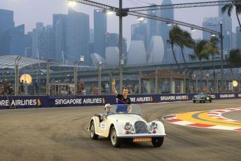 World © Octane Photographic Ltd. Formula 1 – Singapore GP - Drivers Parade. Scuderia Toro Rosso STR14 – Daniil Kvyat. Marina Bay Street Circuit, Singapore. Sunday 22nd September 2019.
