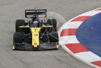 World © Octane Photographic Ltd. Formula 1 – Singapore GP - Practice 1. Renault Sport F1 Team RS19 – Daniel Ricciardo. Marina Bay Street Circuit, Singapore. Friday 20th September 2019.