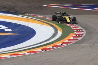 World © Octane Photographic Ltd. Formula 1 – Singapore GP - Practice 1. Renault Sport F1 Team RS19 – Nico Hulkenberg. Marina Bay Street Circuit, Singapore. Friday 20th September 2019.