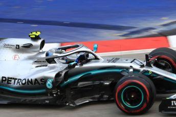World © Octane Photographic Ltd. Formula 1 – Singapore GP - Practice 1. Mercedes AMG Petronas Motorsport AMG F1 W10 EQ Power+ - Valtteri Bottas. Marina Bay Street Circuit, Singapore. Friday 20th September 2019.