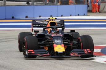 World © Octane Photographic Ltd. Formula 1 – Singapore GP - Practice 1. Aston Martin Red Bull Racing RB15 – Alexander Albon. Marina Bay Street Circuit, Singapore. Friday 20th September 2019.