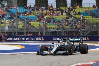 World © Octane Photographic Ltd. Formula 1 – Singapore GP - Practice 1. Mercedes AMG Petronas Motorsport AMG F1 W10 EQ Power+ - Lewis Hamilton. Marina Bay Street Circuit, Singapore. Friday 20th September 2019.