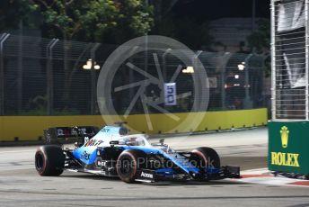 World © Octane Photographic Ltd. Formula 1 – Singapore GP - Practice 2. ROKiT Williams Racing FW 42 – George Russell. Marina Bay Street Circuit, Singapore. Friday 20th September 2019.