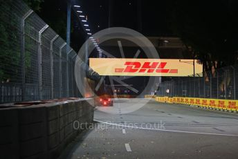 World © Octane Photographic Ltd. Formula 1 – Singapore GP - Practice 2. Haas F1 Team VF19 – Romain Grosjean. Marina Bay Street Circuit, Singapore. Friday 20th September 2019.