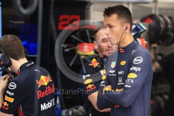 World © Octane Photographic Ltd. Formula 1 – Singapore GP - Practice 3. Aston Martin Red Bull Racing RB15 – Alexander Albon. Marina Bay Street Circuit, Singapore. Saturday 21st September 2019.