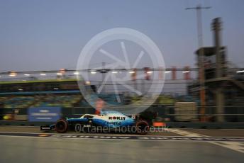 World © Octane Photographic Ltd. Formula 1 – Singapore GP - Practice 3. ROKiT Williams Racing FW 42 – George Russell. Marina Bay Street Circuit, Singapore. Saturday 21st September 2019.