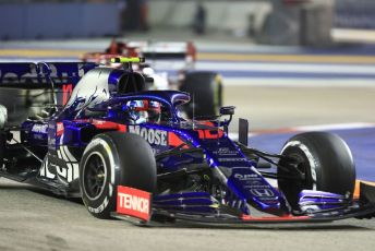 World © Octane Photographic Ltd. Formula 1 – Singapore GP - Race. Scuderia Toro Rosso - Pierre Gasly. Marina Bay Street Circuit, Singapore. Sunday 22nd September 2019.