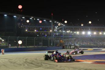 World © Octane Photographic Ltd. Formula 1 – Singapore GP - Race. Scuderia Toro Rosso STR14 – Daniil Kvyat. Marina Bay Street Circuit, Singapore. Sunday 22nd September 2019.