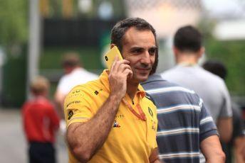 World © Octane Photographic Ltd. Formula 1 - Singapore GP - Paddock. Cyril Abiteboul - Managing Director of Renault Sport Racing Formula 1 Team. Marina Bay Street Circuit, Singapore. Friday 20th September 2019.
