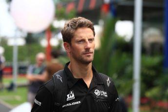 World © Octane Photographic Ltd. Formula 1 – Singapore GP - Paddock. Haas F1 Team VF19 – Romain Grosjean. Marina Bay Street Circuit, Singapore. Friday 20th September 2019.
