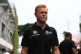World © Octane Photographic Ltd. Formula 1 – Singapore GP - Paddock. Haas F1 Team VF19 – Kevin Magnussen. Marina Bay Street Circuit, Singapore. Friday 20th September 2019.