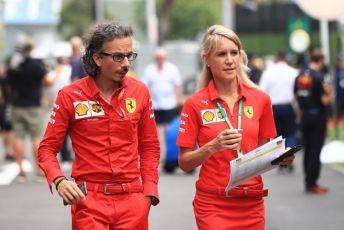 World © Octane Photographic Ltd. Formula 1 - Singapore GP - Paddock. Laurent Mekies – Sporting Director of Scuderia Ferrari. Marina Bay Street Circuit, Singapore. Friday 20th September 2019.