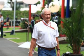 World © Octane Photographic Ltd. Formula 1 - Singapore GP - Paddock. Helmut Marko - advisor to the Red Bull GmbH Formula One Teams and head of Red Bull's driver development program. Marina Bay Street Circuit, Singapore. Friday 20th September 2019.
