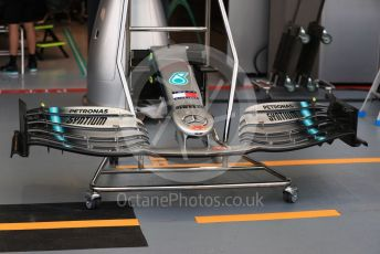 World © Octane Photographic Ltd. Formula 1 – Singapore GP - Paddock. Mercedes AMG Petronas Motorsport AMG. Marina Bay Street Circuit, Singapore. Thursday 19th September 2019.