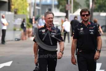 World © Octane Photographic Ltd. Formula 1 - Singapore GP - Paddock. Christian Horner - Team Principal of Red Bull Racing. Marina Bay Street Circuit, Singapore. Saturday 21st September 2019.