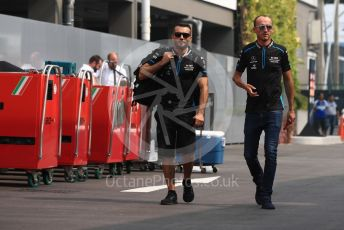 World © Octane Photographic Ltd. Formula 1 – Singapore GP - Paddock. ROKiT Williams Racing FW42 – Robert Kubica. Marina Bay Street Circuit, Singapore. Sunday 22nd September 2019.