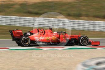 World © Octane Photographic Ltd. Formula 1 – Spanish In-season testing. Scuderia Ferrari SF90 – Charles Leclerc. Circuit de Barcelona Catalunya, Spain. Tuesday 14th May 2019.