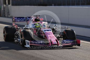 World © Octane Photographic Ltd. Formula 1 – Spanish In-season testing. SportPesa Racing Point RP19 - Nick Yelloly. Circuit de Barcelona Catalunya, Spain. Tuesday 14th May 2019.