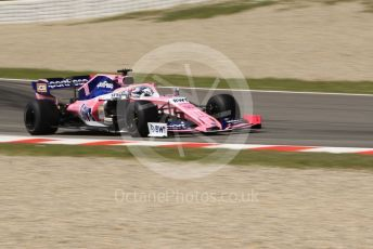 World © Octane Photographic Ltd. Formula 1 – Spanish In-season Pirelli testing. SportPesa Racing Point RP19 - Sergio Perez. Circuit de Barcelona Catalunya, Spain. Tuesday 14th May 2019.