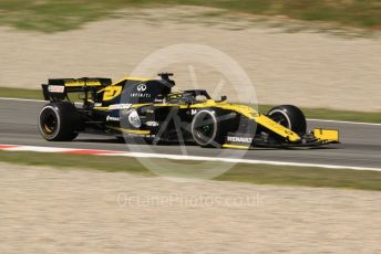 World © Octane Photographic Ltd. Formula 1 – Spanish In-season testing. Renault Sport F1 Team RS19 – Nico Hulkenberg. Circuit de Barcelona Catalunya, Spain. Tuesday 14th May 2019.