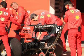 World © Octane Photographic Ltd. Formula 1 – Spanish Pirelli In-season testing. Scuderia Ferrari SF90 – Sebastian Vettel. Circuit de Barcelona Catalunya, Spain. Tuesday 14th May 2019.