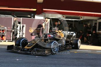 World © Octane Photographic Ltd. Formula 1 – Spanish In-season testing. Rich Energy Haas F1 Team VF19 – Pietro Fittipaldi. Circuit de Barcelona Catalunya, Spain. Tuesday 14th May 2019.