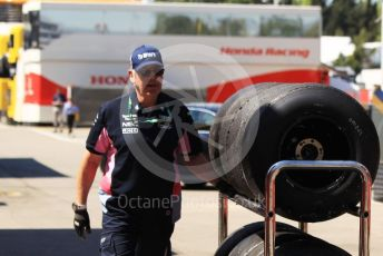 World © Octane Photographic Ltd. Formula 1 – Spanish In-season testing. SportPesa Racing Point RP19 Pirelli tyres. Circuit de Barcelona Catalunya, Spain. Wednesday 15th May 2019.