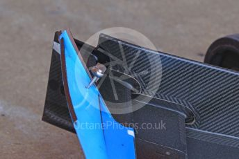 World © Octane Photographic Ltd. Formula 1 – Spanish In-season testing. ROKiT Williams Racing FW42 front wing end plate– Nicholas Latifi Circuit de Barcelona Catalunya, Spain. Wednesday 15th May 2019.