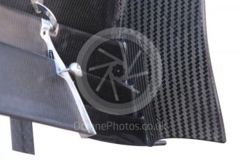 World © Octane Photographic Ltd. Formula 1 – Spanish In-season testing. Alfa Romeo Racing C38 front wing end plate – Kimi Raikkonen. Circuit de Barcelona Catalunya, Spain. Wednesday 15th May 2019.