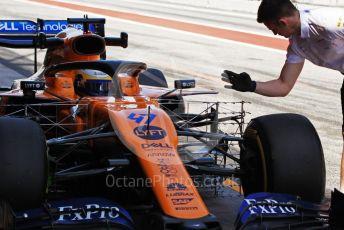 World © Octane Photographic Ltd. Formula 1 – Spanish In-season testing. McLaren MCL34 – Sergio Sette Camara. Circuit de Barcelona Catalunya, Spain. Wednesday 15th May 2019.