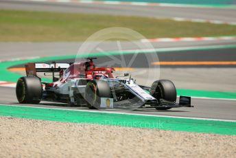 World © Octane Photographic Ltd. Formula 1 – Spanish In-season testing. Alfa Romeo Racing C38 – Kimi Raikkonen. Circuit de Barcelona Catalunya, Spain. Wednesday 15th May 2019.