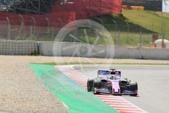 World © Octane Photographic Ltd. Formula 1 – Spanish In-season testing. SportPesa Racing Point RP19 - Nick Yelloly. Circuit de Barcelona Catalunya, Spain. Wednesday 15th May 2019.