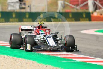 World © Octane Photographic Ltd. Formula 1 – Spanish GP. Practice 1. Alfa Romeo Racing C38 – Antonio Giovinazzi. Circuit de Barcelona Catalunya, Spain. Friday 10th May 2019.