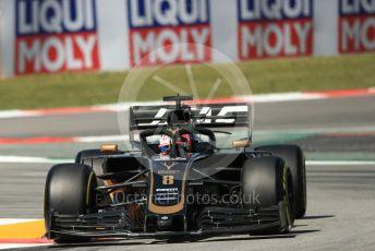 World © Octane Photographic Ltd. Formula 1 – Spanish GP. Practice 1. Rich Energy Haas F1 Team VF19 – Romain Grosjean. Circuit de Barcelona Catalunya, Spain. Friday 10th May 2019.