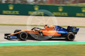World © Octane Photographic Ltd. Formula 1 – Spanish GP. Practice 2. McLaren MCL34 – Lando Norris. Circuit de Barcelona Catalunya, Spain. Friday 10th May 2019.