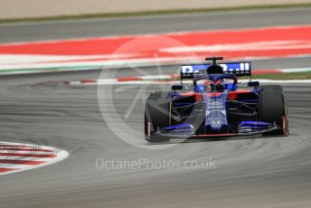 World © Octane Photographic Ltd. Formula 1 – Spanish GP. Practice 2. Scuderia Toro Rosso STR14 – Daniil Kvyat. Circuit de Barcelona Catalunya, Spain. Friday 10th May 2019.