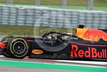 World © Octane Photographic Ltd. Formula 1 – Spanish GP. Practice 2. Aston Martin Red Bull Racing RB15 – Pierre Gasly. Circuit de Barcelona Catalunya, Spain. Friday 10th May 2019.