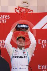 World © Octane Photographic Ltd. Formula 1 – Spanish GP. Podium. Mercedes AMG Petronas Motorsport AMG F1 W10 EQ Power+ - Valtteri Bottas. Circuit de Barcelona Catalunya, Spain. Sunday 12th May 2019.