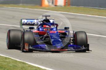 World © Octane Photographic Ltd. Formula 1 – Spanish GP. Race. Scuderia Toro Rosso STR14 – Daniil Kvyat. Circuit de Barcelona Catalunya, Spain. Sunday 12th May 2019.