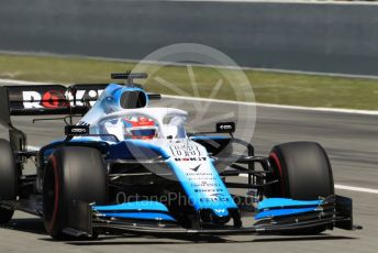 World © Octane Photographic Ltd. Formula 1 – Spanish GP. Race. ROKiT Williams Racing – George Russell. Circuit de Barcelona Catalunya, Spain. Sunday 12th May 2019.