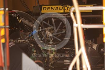 World © Octane Photographic Ltd. Formula 1 – Spanish GP. Thursday Setup. Renault Sport F1 Team RS19. Circuit de Barcelona Catalunya, Spain. Thursday 9th May 2019.