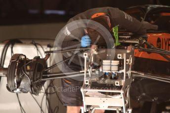 World © Octane Photographic Ltd. Formula 1 – Spanish GP. Thursday Setup. McLaren MCL34. Circuit de Barcelona Catalunya, Spain. Thursday 9th May 2019.