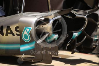 World © Octane Photographic Ltd. Formula 1 – Spanish GP. Thursday Setup. Mercedes AMG Petronas Motorsport AMG F1 W10 EQ Power+. Circuit de Barcelona Catalunya, Spain. Thursday 9th May 2019