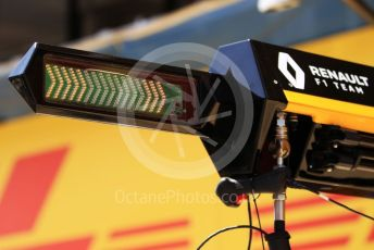 World © Octane Photographic Ltd. Formula 1 – Spanish GP. Thursday Setup. Renault Sport F1 Team. Circuit de Barcelona Catalunya, Spain. Thursday 9th May 2019.
