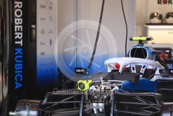 World © Octane Photographic Ltd. Formula 1 – Spanish GP. Thursday Setup. ROKiT Williams Racing – Robert Kubica. Circuit de Barcelona Catalunya, Spain. Thursday 9th May 2019.
