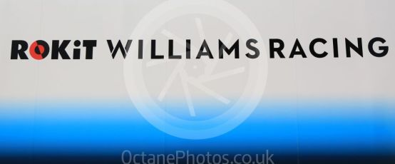 World © Octane Photographic Ltd. Formula 1 – Spanish GP. Thursday Setup. ROKiT Williams Racing logo. Circuit de Barcelona Catalunya, Spain. Thursday 9th May 2019.