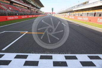 World © Octane Photographic Ltd. Formula 1 – Spanish GP. Thursday Track Walk. Start/ finish straight. Circuit de Barcelona Catalunya, Spain. Thursday 9th May 2019.
