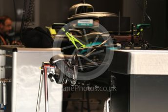 World © Octane Photographic Ltd. Formula 1 – Spanish GP. Thursday Setup. Mercedes AMG Petronas Motorsport AMG F1 W10 EQ Power+. Circuit de Barcelona Catalunya, Spain. Thursday 9th May 2019.